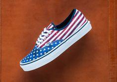 "http://SneakersCartel.com Vans Authentic ""American Flag"" #sneakers #shoes #kicks #jordan #lebron #nba #nike #adidas #reebok #airjordan #sneakerhead #fashion #sneakerscartel"