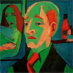 Ernst Ludwig Kirchner - Gemälde von E.L.Kirchner