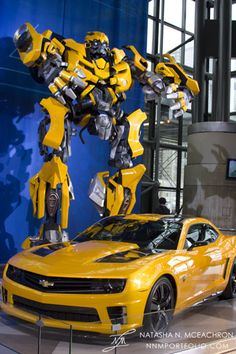 Chevy Camaro Transformers Bumblebee Edition. How cool would it be if a car could actually transform into a robot? (It would probably have to be a SUV or truck for a person to still fit inside.) Speaking of which, when can we expect the flying cars that were supposed to be around by 2000?