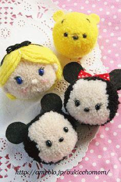 【毛糸のポンポン】ツムツムのアリス|Craft Cafe(クラフトカフェ)