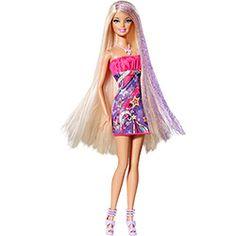 Barbie Cabelos Longos Loira - Mattel