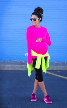 Pregnant Workout Outfit