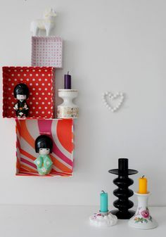 Boxes covered with fabric! Home Projects, Projects To Try, Covered Boxes, Diy And Crafts, Recycling, Fancy, Invitations, Holiday Decor, Creative