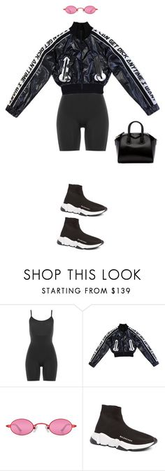 """Untitled #240"" by zivapersonalshopping on Polyvore featuring SPANX, Balenciaga and Givenchy"