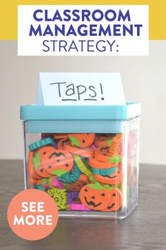 """Wondering how to maintain quiet, respectful lines in the hallway?! Read about my FAVORITE classroom management strategy for an elementary classroom! All it needs are some mini erasers and a little """"tap"""" on the shoulder."""