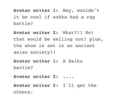 I wish he could've had a rap battle tho. Korra Avatar, Team Avatar, Avatar Airbender, Tumblr Funny, Funny Memes, Cartoon Memes, Hilarious, Legend Of Korra, Atla Memes
