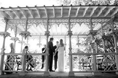 Classic black and white from a recent wedding at the Ladies Pavilion in Central Park