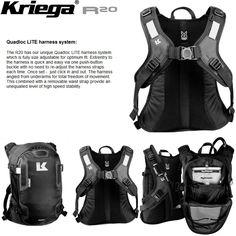 e557d804c2f8 Motorcycle Gear Kriega R20 Backpack