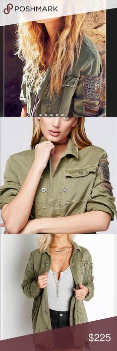 Free People Military Jacket. Size XS. NWT. Free People Military Jacket. Size XS. NWT. Free People Jackets & Coats Utility Jackets