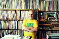 Now you can explore John Peel's record collection: Online archive will allow music fans to explore legendary DJ's albums and studio Vinyl Record Shop, Vinyl Record Collection, Vinyl Records, Dj John, Peel Sessions, John Peel, Music Documentaries, Rare Records, Vinyls