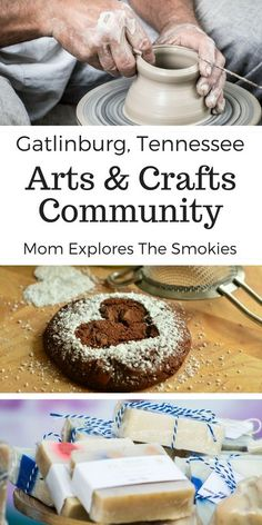 The arts and crafts community in Gatlinburg, Tennessee, TN, USA is located along a convenient 9 mile driving loop. The loop is lined with over 100 local artisans and vendors with tons of free live demonstrations. Maggie Valley North Carolina, Bryson City North Carolina, Sevierville Tennessee, Gatlinburg Tn, Smoky Mountains Tennessee, Great Smoky Mountains, Grand Canyon National Park, Yellowstone National Park, National Parks