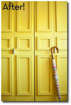 How To Update Plain Doors With Picture Frames