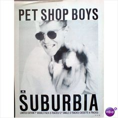 Pet Shop Boys. Suburbia. Magazine Advert
