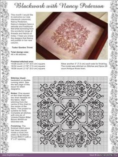 Geek Cross Stitch, Cross Stitch Tree, Cross Stitch Charts, Cross Stitch Designs, Cross Stitch Patterns, Blackwork Cross Stitch, Blackwork Embroidery, Cross Stitching, Cross Stitch Embroidery
