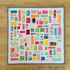 100/101 ticker tape doll quilt