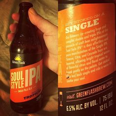 Check out our Surf clothing here! http://ift.tt/1T8lUJC @thestorybehindthis #singleIPA by @greenflashbeer is #surflife #inspired. #soulstyle #soulstyleipa #ipa #beer #indiapaleale  #thestorybehindthis #foodstories #creativewriting #marketing #branding #storytelling