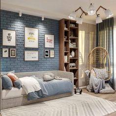 Bedroom Furniture Design, Girl Room, Home Interior Design, Kids Bedroom, New Homes, Room Decor, House Design, Bedrooms, Arquitetura