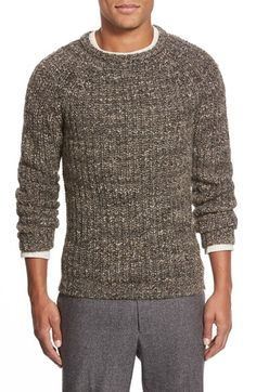 Billy Reid Shaker Stitch Raglan Sweater available at #Nordstrom