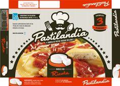 Cliente: Pastilandia Trabajo: diseño de pack