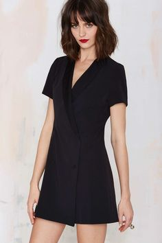 Sharp Dressed Woman Tuxedo Dress | Shop Clothes at Nasty Gal