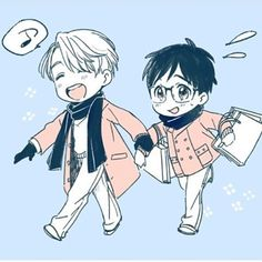 Yuri on ice/ Yuri Katsuki and Victor Nikiforov