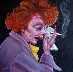 Lucille Ball  Artist: Paul Alexander