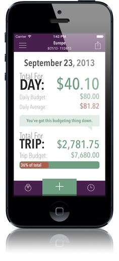 Trail Wallet #trip planning #travel app #tips