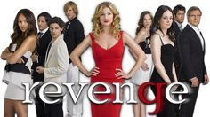 revenge tv show | Revenge tv show image with logo and character