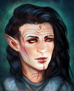 eristhenat:  Commission for pulviplume of Ciarán Lavellan! Thanks for commissioning me c: