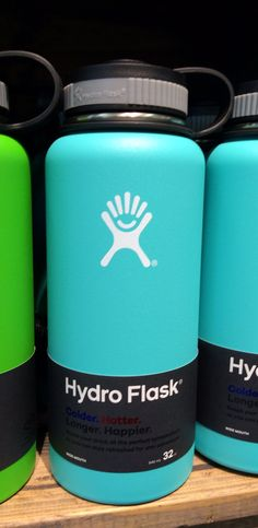 Love the turquoise color! Hawaii exclusive colors!! Hydro Flask 32oz wide mouth - Love the turquoise color