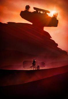 CIA☆こちら映画中央情報局です: Star Wars News & Tidbits : 「スター・ウォーズ: ザ・フォース・アウェイクンズ」のヒロイン、レイと BB-8 を描いたアート・ポスター、「スター・ウォーズ: ザ・パルクール・アウェイクンズ」、and more …!! - 映画諜報部員のレアな映画情報・映画批評のブログです