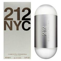 Perfume 212 NYC 100ml Feminino Carolina Herrera Eau de Toilette http://www.perfumesimportadosgi.com.br/
