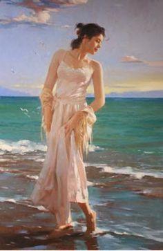 SWAN LAKE: RICHARD S. JOHNSON - American Contemporary Painter
