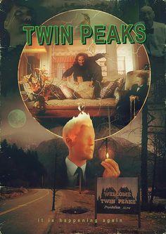 "Twin Peaks, ""It is happening again"""