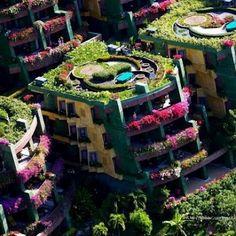 Floral apartments in Puket, Thailand