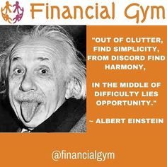 """Out of clutter find simplicity. From discord find harmony. In the middle of difficulty lies opportunity.  Albert Einstein  #alberteinstein #findsimplicity #thoughtleadership #thoughtleader #speaker #speaking #mentor #mentorship #authour #author #expert #guru #famous #leaders #inspiration #inspirational #inspirationalquotes #feelingempowered #happinessquotes #selfbelief #hanginthere #loveyourself #successquotes #motivation #positivepeople #mindset #lawofattraction #faith"