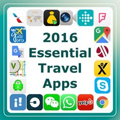 2016 Essential Travel Apps