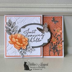 Fun Fold Cards, Folded Cards, Joy Fold Card, 3d Cards, Gift Cards, Logos Retro, Stampin Pretty, Stamping Up Cards, Card Sketches