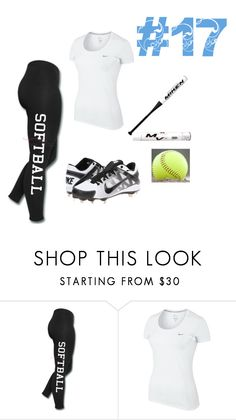 """Untitled #78"" by rnelson-17 ❤ liked on Polyvore featuring NIKE and Miken"