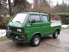 Volkswagen Transporter Tristar Syncro