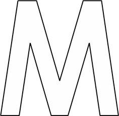 afbeeldingsresultaat voor letter m kleurplaat decor