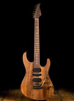 Suhr Modern Custom Curly Koa Electric Guitar - Natural Oil | Reverb