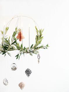 DIY Scandinavian Christmas Chandelier   monsterscircus