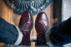 ALDEN® CAP TOE CORDOVAN BOOTS Alden Cordovan, Tweed Men, Fashion Boots, Mens Fashion, Men's Shoes, Dress Shoes, Inspirations Magazine, Best Shoes For Men, Dress With Boots
