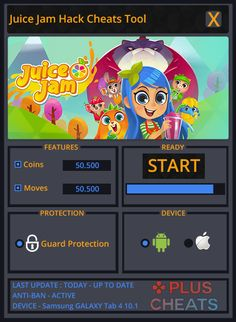 Juice Jam Hack Cheats Tool  Juice Jam Hack is Modhacks.com a new tool, that we all want to present to you. If you ever glimpse at all the other hacks on line, this amazing tool is the most effective. This specific tool was made to be functioning on Android os and iOS devices. That …