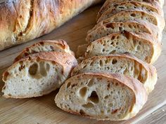 Bread Recipes, Diet Recipes, Ciabatta, Bakery, Cooking, Breads, Foods, Kitchen, Bread