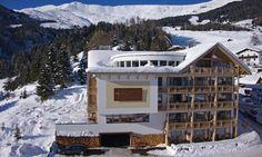 Hotel Natürlich Fiss - Luftansicht Winter