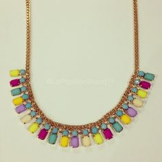 Sunny Side Necklace - PhP 980 Color: Blue In Stock: 2 pcs.  To place an order, please text/iMessage/Viber/WhatsApp/WeChat 0999-8894770 or fill out an order form at http://facebook.com/LePapillonAccessories.