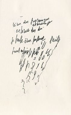 Henri Michaux, Labels, 1956 (one of the mescaline drawings).
