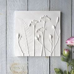 Fiona Gray plaster cast plaque